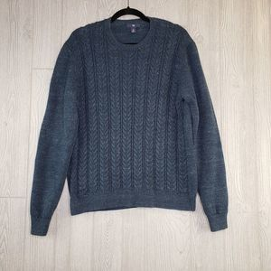 Gap Long Sleeve Dark Blue Navy Cable Knit Sweater